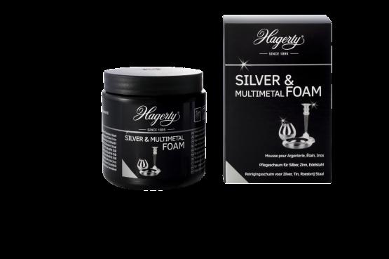 Hagerty Silver Foam Multimetal mit Schwamm 185g