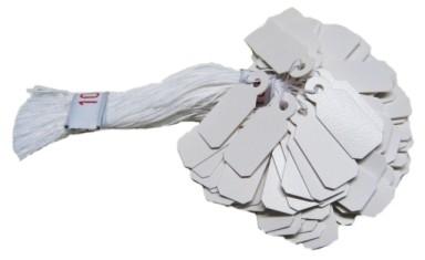 Etiketten Plastik mittel 1-Bund 20,0 x 8,5 mm