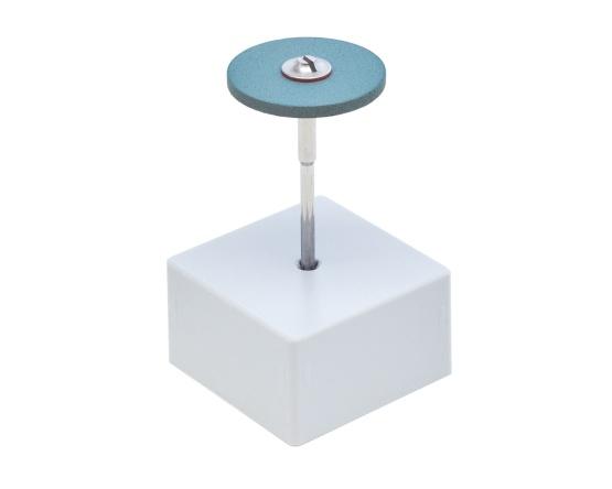 Diamant-Polierer blau mittel 25x2 mm Titan, Platin