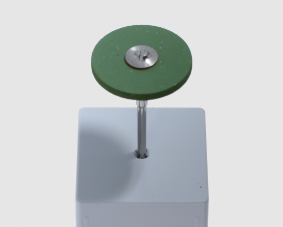 Diamant-Polierer grün grob 25x2 mm Titan, Platin