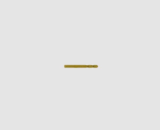 333 Gelbgold Ohrsteckerstift 10,0 mm 2 Kerben