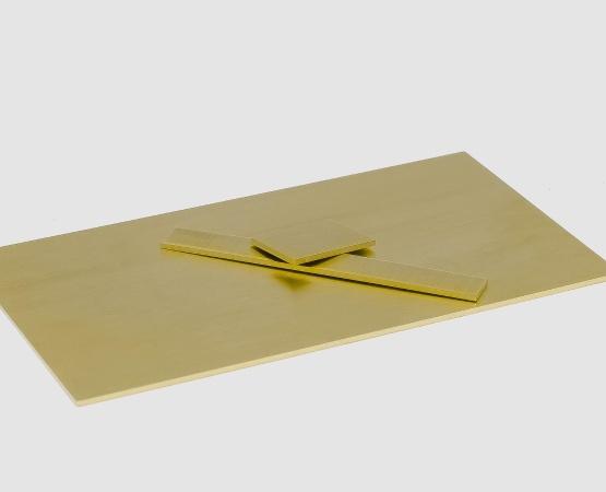 585 Gelbgold Blech