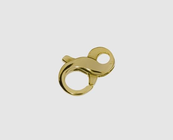 585 Gelbgold Karabiner 8 Form