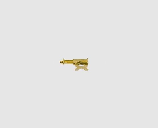585 Gelbgold Schiebesicherung 6,5 mm