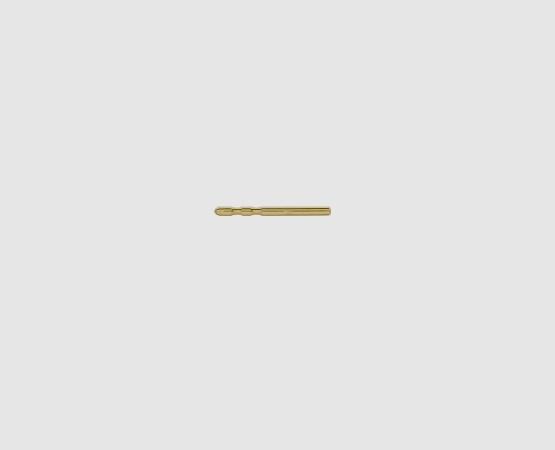 585 Gelbgold Ohrsteckerstift 10,0 mm 2 Kerben 10 mm