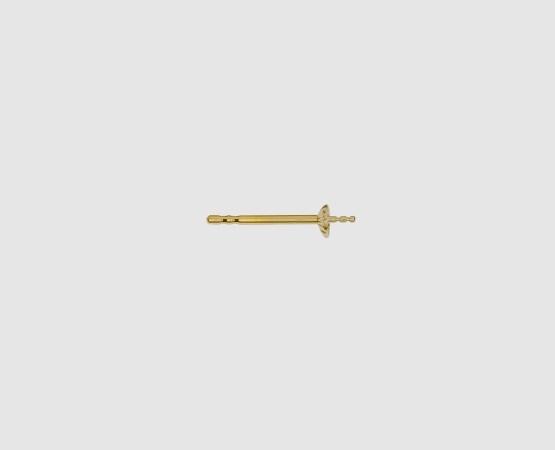 585 Gelbgold Ohrstecker mit Perlschale