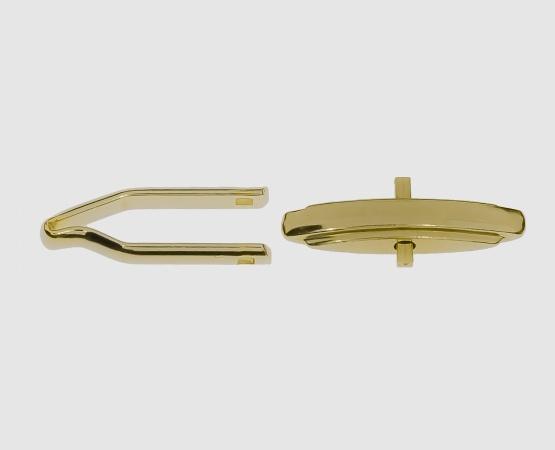 585 Gelbgold Manschettenknopfmechanik