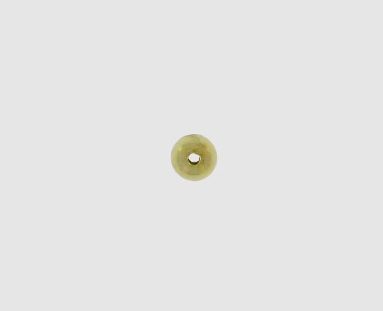 585 Gelbgold Kugel 2 Loch