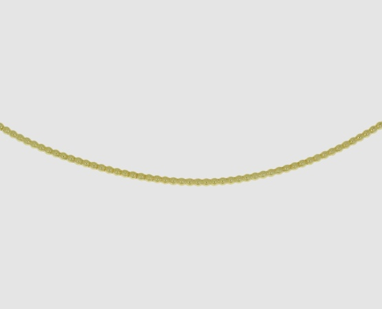 585 Gelbgold Perldraht  1,5 mm