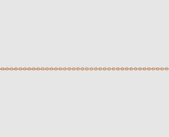 585 Rotgold Ankerkette  1,0 mm - Meterware