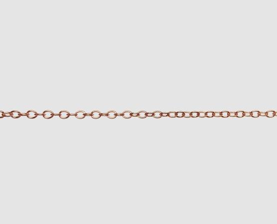 585 Rotgold Ankerkette weit- 2,1 mm
