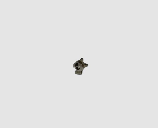 585 Weißgold Kugelhaken klein