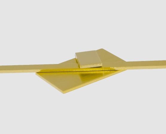 750 Gelbgold Blech