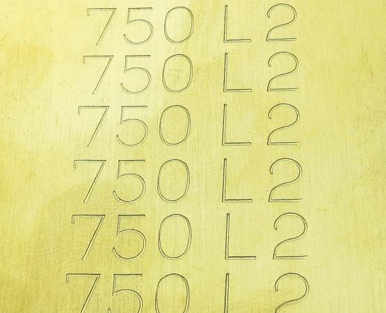 750 Gelbgold Blechlot L2 mittel, AT 780 ° Blechlot mittel L2