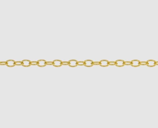 750 Gelbgoldkette Anker weit 2,9 mm