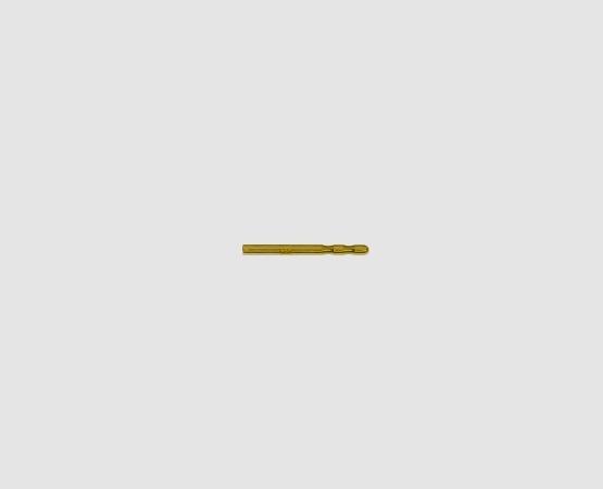 750 Gelbgold Ohrsteckerstift mit 2 Kerben
