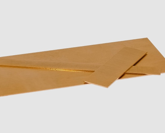 750 Roségold Blech