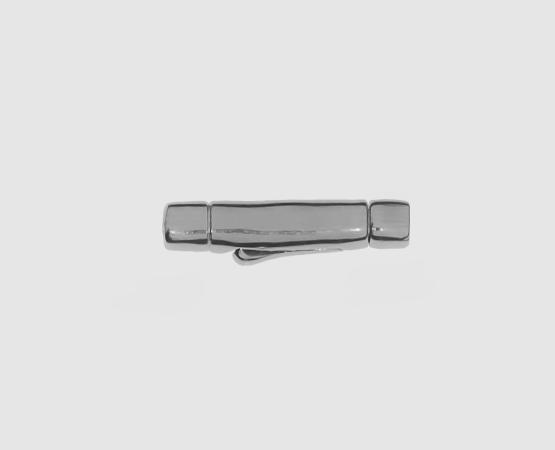 925 Silber Clip-Verschluss 3,5/2,0 mm aussen/innen