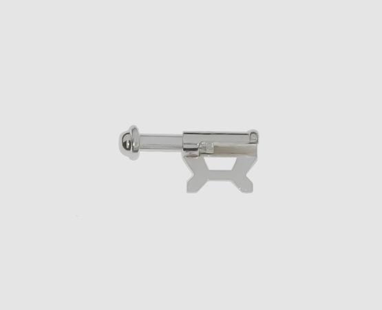 925 Silber Schiebesicherung 7,5 mm