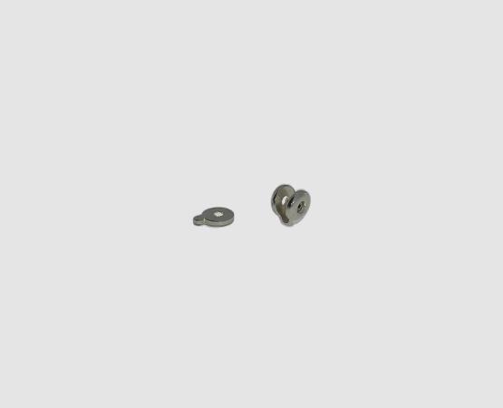925 Silber Böckchen mit Laufrad klein