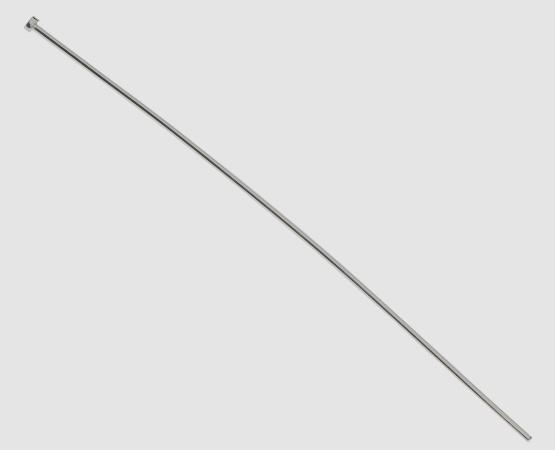 925 Silber Stift 80 x 0,6 mm mit Platte