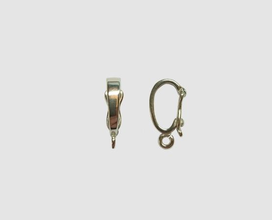925 Silber Einhänger  13,0 x 2,7mm