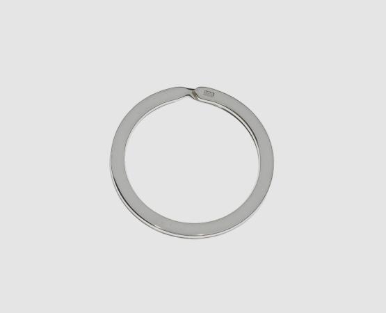 925 Silber Schlüsselring 30 mm - ohne Kette