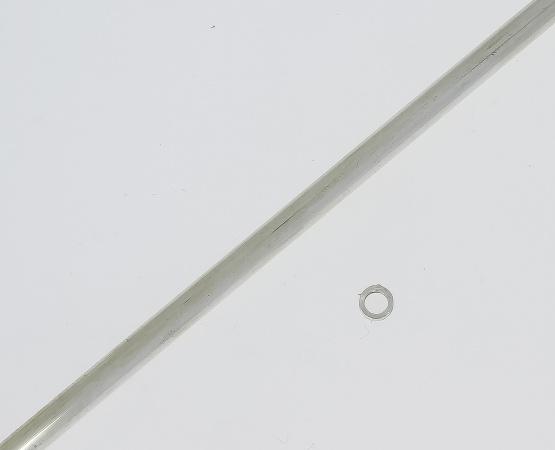 935 Silber Rohr rund 4,0 x 0,5 mm 4,0 x 0,5 mm