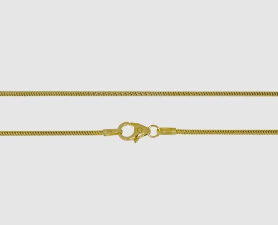 585 Gelbgold Schlangenkette - Länge 45 cm