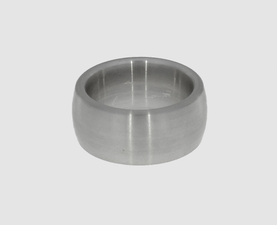 Ringrohling 935 Silber oval 10,0 mm x 3,0 mm