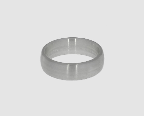 Ringrohling 935 Silber oval 6,0 mm x 2,0 mm