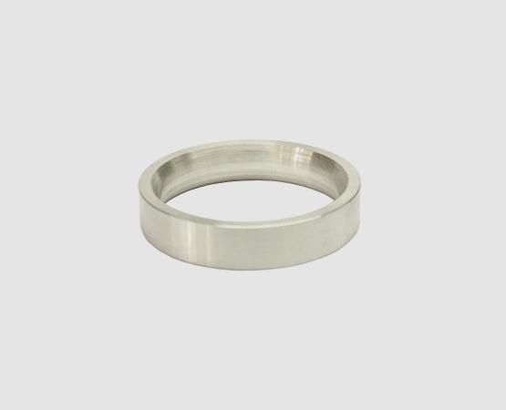 Ringrohling 935 Silber flach/bombiert 4,5 x 2 mm