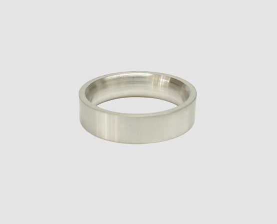 Ringrohling 935 Silber flach/bombiert 5,5  x 2 mm