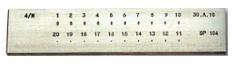 Zieheisen rund 3,0 - 1,0 mm