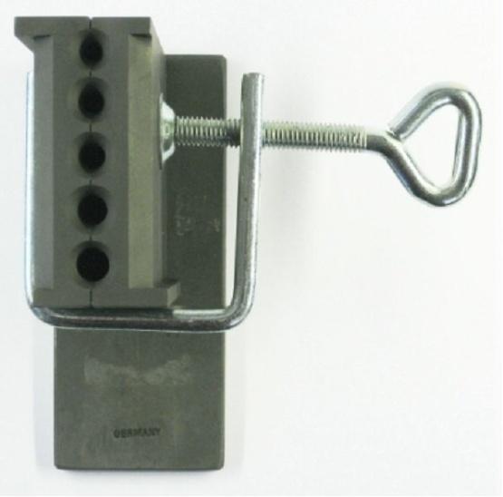 Einguß 45x80x4 mm Blech 3-4-5-6 mm Draht rund
