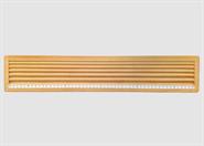 Perlensortierbrett aus Holz 6 Rillen 555 x 105mm