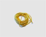 Perlspiraldraht vergoldet ca. 1 m