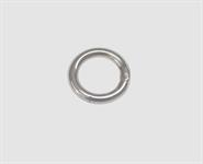 925 Silber Ringschließe 18,0 mm rund