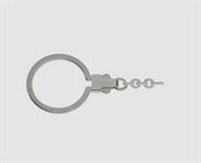 925 Silber Schlüsselring 42 mm