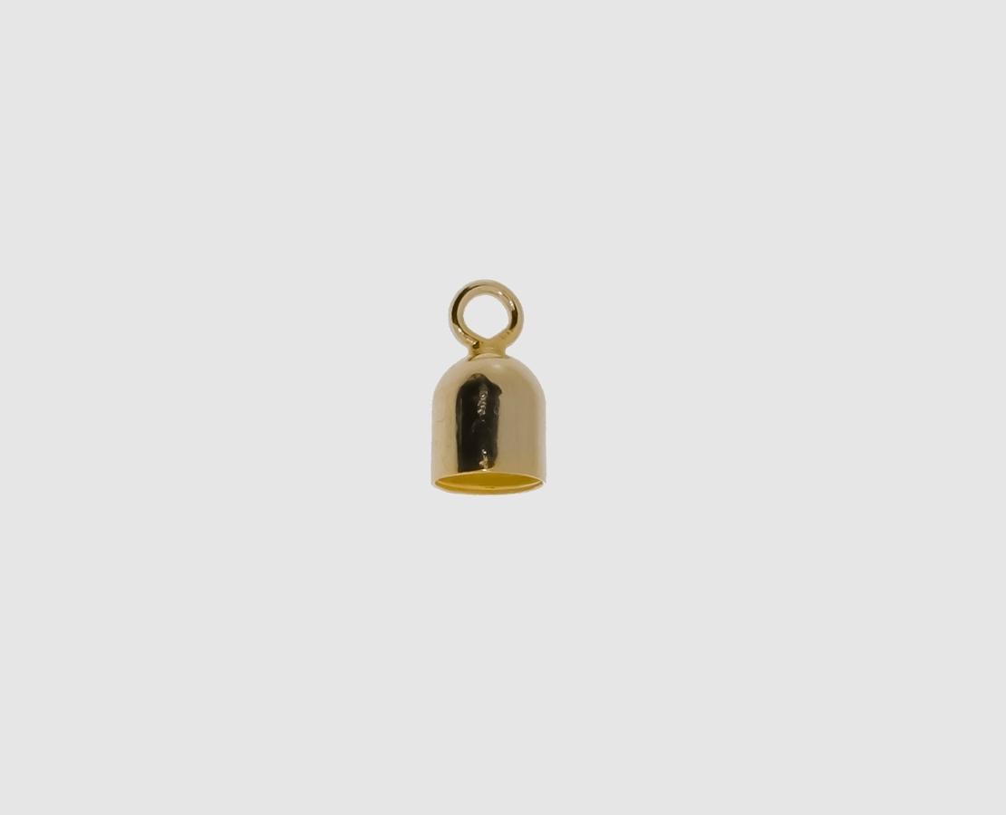 endkapseln aus gelbgold 585 f r handel privat kaufen. Black Bedroom Furniture Sets. Home Design Ideas