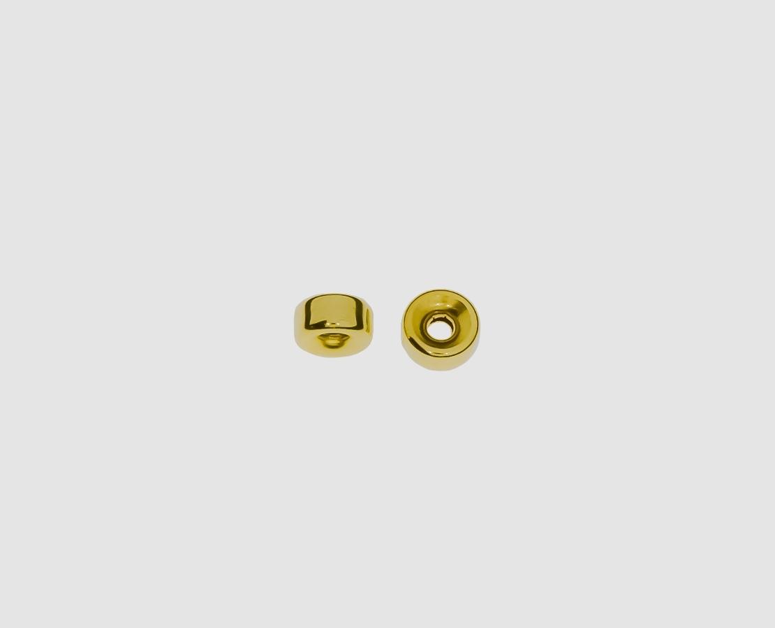 hohlzylinder aus gelbgold 750 f r handel privat kaufen. Black Bedroom Furniture Sets. Home Design Ideas
